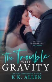 bargain ebooks The Trouble With Gravity Sports Romance by K.K. Allen