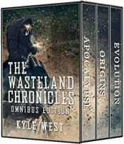 bargain ebooks The Wasteland Chronicles (Omnibus Edition) SciFi Adventure by Kyle West
