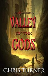 bargain ebooks Valley of the Gods Fantasy Adventure by Chris Turner