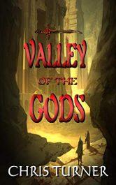bargain ebooks Valley of the Gods Fantasy Adventure by Chris Turner