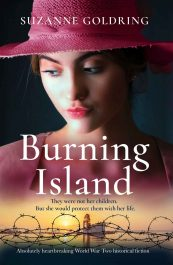 bargain ebooks Burning Island Historical Fiction by Suzanne Goldring