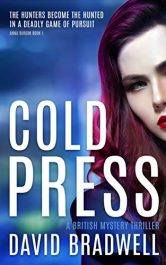 bargain ebooks Cold Press British Mystery Thriller by David Bradwell
