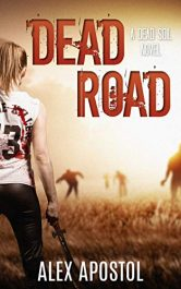 bargain ebooks Dead Road SciFi Horror by Alex Apostol
