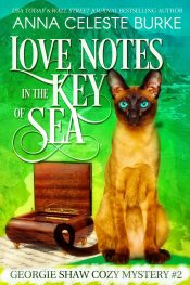 amazon bargain ebooks Love Notes in the Key of Sea Georgie Shaw Cozy Mystery #2 Cozy Mystery by Anna Celeste Burke