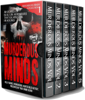 bargain ebooks Murderous Minds: 30 Stories of Real-Life Murderers That Escaped the Headlines True Crime Horror by True Crime Seven