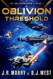 bargain ebooks Oblivion Threshold Science Fiction by J.R. Mabry & B.J. West