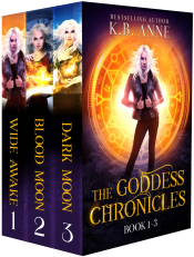 bargain ebooks The Goddess Chronicles Book 1- 3 Boxset Young Adult/Teen Urban Fantasy Romance by KB Anne