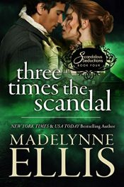 bargain ebooks Three Times the Scandal Erotic Romance by Madelynne Ellis