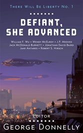 amazon bargain ebooks Defiant, She Advanced Science Fiction by George Donnelly