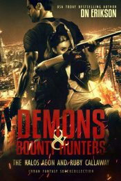 bargain ebooks Demons and Bounty Hunters Boxed Set Urban Fantasy by DN Erikson