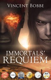 bargain ebooks Immortals' Requiem Dark Fantasy Adventure by Vincent Bobbe