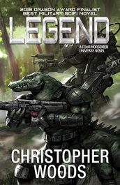 amazon bargain ebooks Legend Science Fiction by Christopher Woods