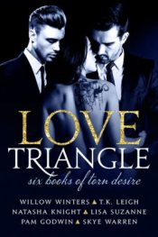 bargain ebooks Love Triangle: Six Books of Torn Desire Erotic Romance by Willow Winters