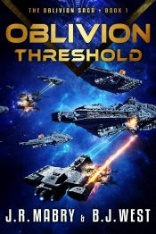 amazon bargain ebooks Oblivion Threshold Science Fiction by J.R. Mabry & B.J. West