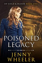 bargain ebooks Poisoned Legacy Historical Thriller by Jenny Wheeler