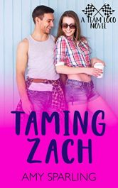 bargain ebooks Taming Zach Young Adult/Teen by Amy Sparling