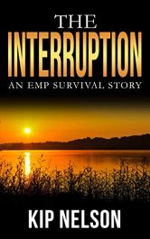 bargain ebooks The Interruption: An EMP Survival Story Hard Science Fiction by Kip Nelson