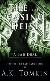 bargain ebooks The Little Casino Heist Thriller by A.K. Tomkin