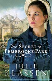 bargain ebooks The Secret of Pembrooke Park Historical Fiction by Julie Klassen