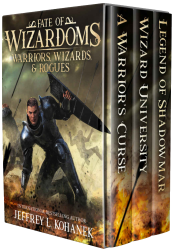bargain ebooks Warriors, Wizards, & Rogues: Tales of Swords & Sorcery Young Adult/Teen Fantasy by Jeffrey L. Kohanek