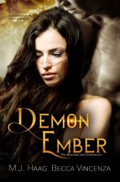 amazon bargain ebooks Demon Ember Paranormal Romance by MJ Haag
