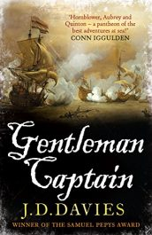 amazon bargain ebooks Gentleman Captain Historical Action Adventure by J.D. Davies