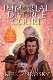 bargain ebooks Immortal Divorce Court Paranormal Romance by Kirk Zurosky