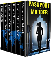 bargain ebooks Passport to Murder Mystery by Multiple Authors