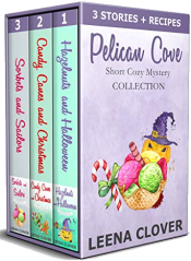 bargain ebooks Pelican Cove Short Cozy Mystery Collection Cozy Mystery Anthology by Leena Clover