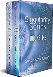 bargain ebooks Singularity Series Box Set Young Adult/Teen SciFi by Susan Kaye Quinn