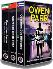 bargain ebooks The Alpha Team: Volumes 1-3 Mystery Thriller by Owen Parr