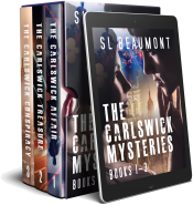 bargain ebooks The Carlswick Mysteries Box-set: Books 1-3  Mystery Romance by SL Beaumont