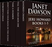 bargain ebooks The Jeri Howard Anthology: Books 1-5 Mystery by Janet Dawson