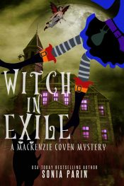 bargain ebooks Witch in Exile Fantasy Mystery by Sonia Parin