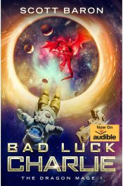amazon bargain ebooks Bad Luck Charlie Scifi Fantasy by Scott Baron