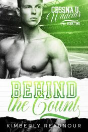 bargain ebooks Behind the Count Sports/New Adult Romance by Kimberly Readnour