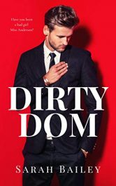 bargain ebooks Dirty Dom Erotic Romance by Sarah Bailey