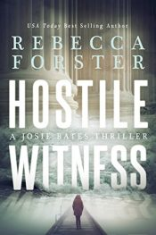 bargain ebooks HOSTILE WITNESS Thriller by Rebecca Forster