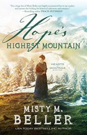 amazon bargain ebooks Hope's Highest Mountain Historical Fiction by Misty M. Beller