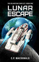bargain ebooks Lunar Escape Humorous Science Fiction by C.P. MacDonald