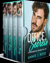 bargain ebooks Office Secrets Boxed Set Contemporary Romance by Annie J. Rose