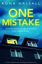 amazon bargain ebooks One Mistake Psychological Thriller by Rona Halsall