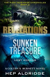 bargain ebooks REVELATIONS: Sunken Treasure lost worlds Action Adventure Thriller by Hep Aldridge