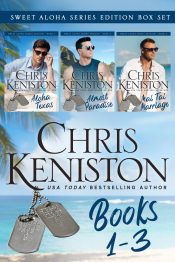 bargain ebooks Sweet Aloha Series Boxed Set Books 1-3 Sweet Contemporary Romance by Chris Keniston