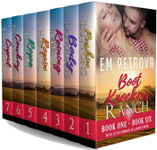 bargain ebooks The Boot Knockers Ranch Box Set Erotic Romance by Em Petrova