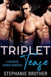 bargain ebooks Triplet Tease Reverse Harem Erotic Romance by Stephanie Brother