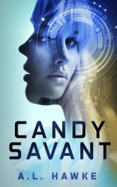 amazon bargain ebooks Candy Savant Science Fiction by A.L. Hawke