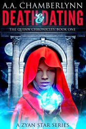 amazon bargain ebooks Death and Dating Urban Fantasy by A.A. Chamberlynn