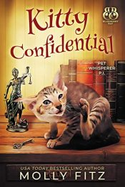 amazon bargain ebooks Kitty Confidential Cozy Mystery by Molly Fitz