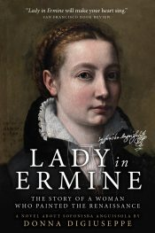 bargain ebooks Lady in Ermine Historical Fiction by Donna DiGiuseppe